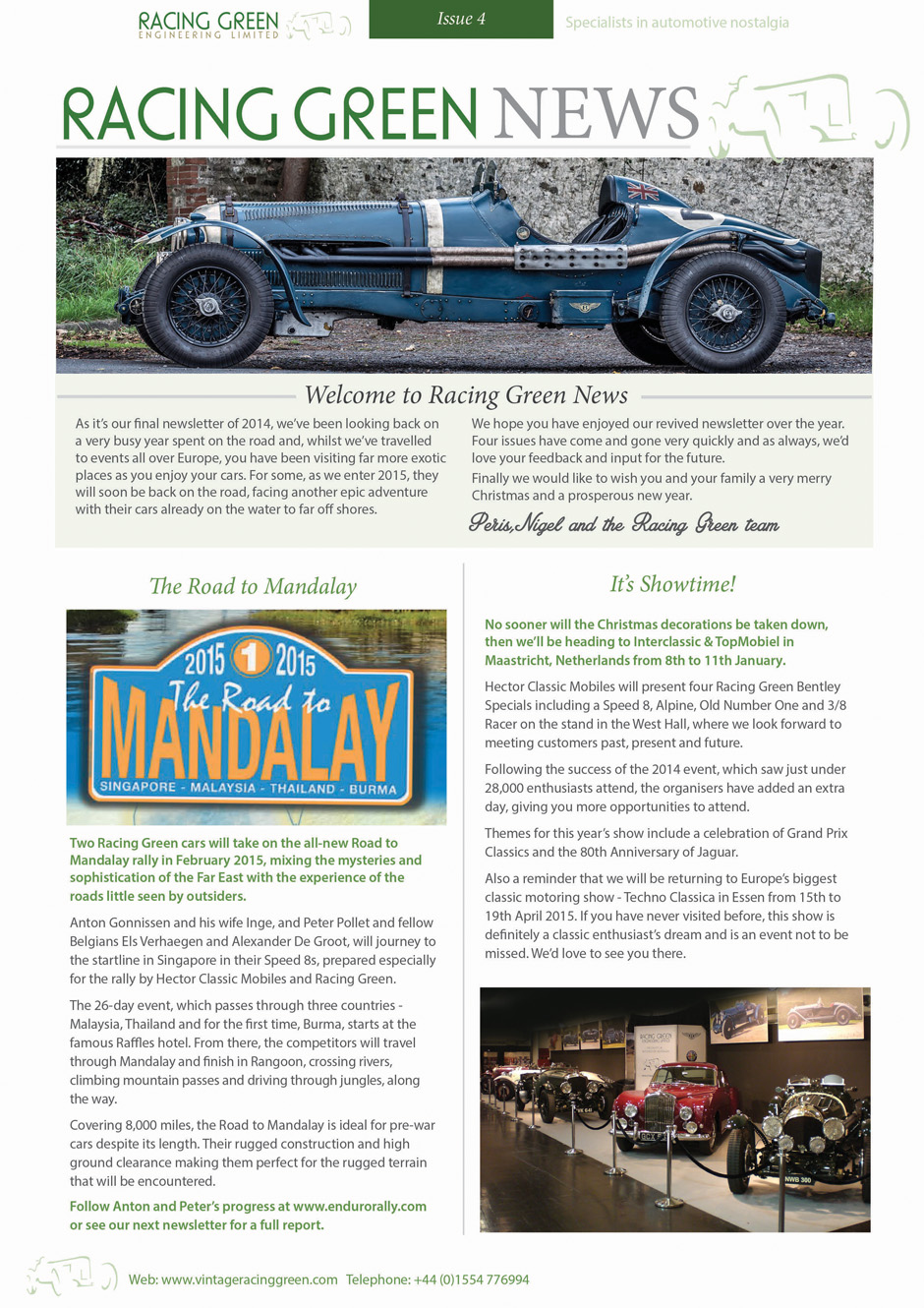 Racing Green News Issue4 1
